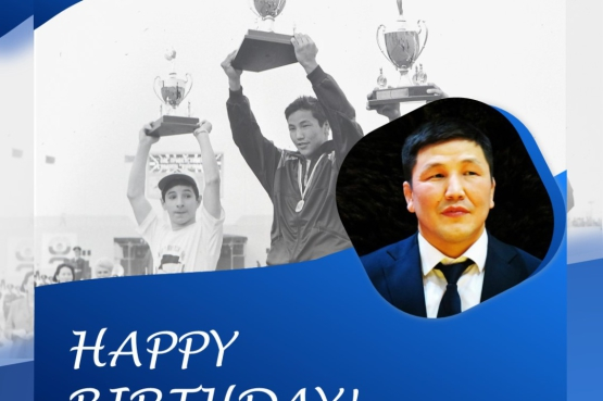 Champion of the 1st Children of Asia Games and Ambassador of the Games Leonid Spiridonov is 40!