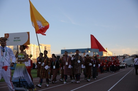 """BHUTANESE PRINCE: """"WE ARE INTERESTED IN CHILDREN OF ASIA GAMES IN YUZHNO-SAKHALINSK AND ULAANBAATAR"""""""
