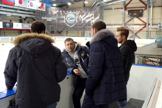 "The representative of the Russian Skating Union estimated the Ice Palace ""Kristall"" on Sakhalin"