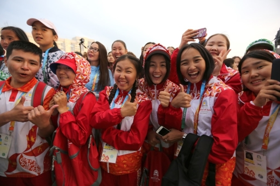 "Become a volunteer for the Winter Games ""Children of Asia"""