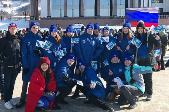 800 YOUNG PEOPLE READY TO VOLUNTEER AT WINTER CHILDREN OF ASIA GAMES IN SAKHALIN