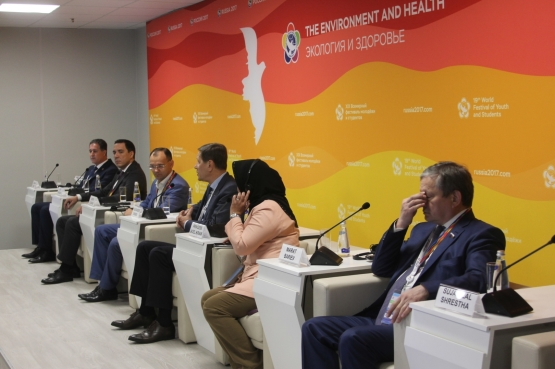 International Summit of Young Professionals in Sports Open in Sochi