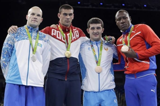 ANOTHER OLYMPIC MEDAL OF CHILDREN OF ASIA