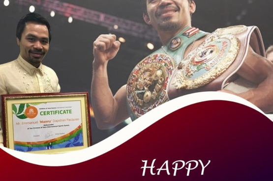 Boxing phenomenon Manny Pacquiao is 42 years old!