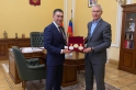 President of the Committee met with Minister of Sport of the Russian Federation